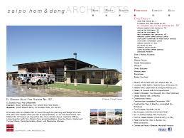 ch u0026d portfolio el dorado hills fire station no 87