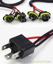 h4 9003 hid conversion kit dual relay wiring harness bi xenon hi