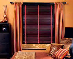 bedroom curtains with blinds with then i hung a curtain rod and