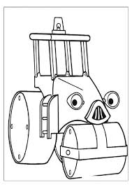 roley the road roller coloring pages