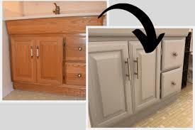 what paint is best for bathroom cabinets how to paint a bathroom vanity remodeled