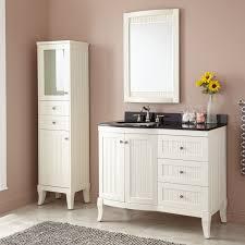 Bathroom Vanity With Linen Cabinet 42