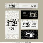 sewing cards templates sewing business cards business card design sewing business card