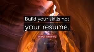 Build Your Resume Sheryl Sandberg Resume Resume For Your Job Application