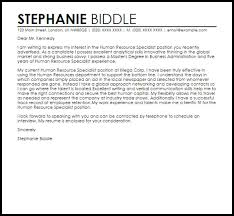 sample human resources manager cover letter cover letter tips for