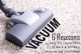 Vaccumming 6 Reasons Why It U0027s Important To Have A 30 Day Vacuuming Challenge