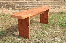 side table looking for rustic wood bench plans