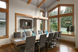 Dining Room Candle Chandelier Driftwood Mirror Convention Vancouver Contemporary Dining Room