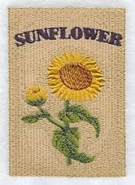 sunflower seed packets machine embroidery designs at embroidery library embroidery library