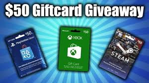 buy a steam gift card 50 ps4 xbox steam giftcard giveaway
