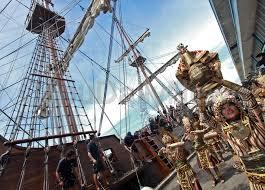 spanish galleon docks in cebu port cebu daily news