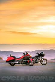 honda gold wing f6b vs h d cvo road glide comparison test review