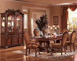 cherry dining room set formal dining room set in classic cherry mcfd5006
