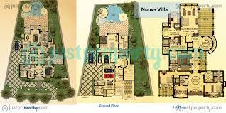 dubai lifestyle city villas floor plans justproperty com
