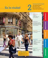 en la ciudad vista higher learning