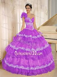 violet dress new violet sweetheart quinceanera gown dress with ruffled layers