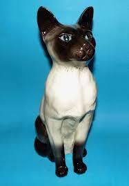 beswick ornament figurine large fireside siamese cat 1st quality