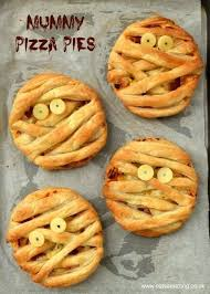 mummy puff pastry pizza pies fun halloween food for kids from
