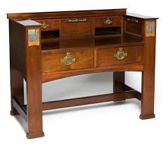 Arts And Crafts Writing Desk Arts U0026 Crafts Dressing Table Leonard Wyburd For Liberty U0026 Co