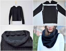 diy infinity scarves sweater black easy ideas