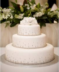 3 Tier Wedding Cake 3 Tier Wedding Cake With Cachous Sargent U0027s Cakes