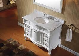 virtu es 27048 wmro wh norhaven single bathroom vanity cabinet set