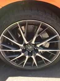 lexus sport rcf mn mint lexus rcf wheels and michelin super sport tires 20 spoke