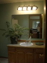 Above Mirror Vanity Lighting Bathroom Vanity Light Height Above Mirror Bathroom Mirrors