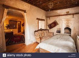hotel room goreme cappadocia turkey stock photo royalty free