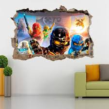 lego ninjago smashed photo in lego wall stickers home decor ideas lego ninjago smashed photo in lego wall stickers