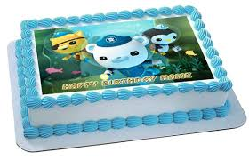 octonauts cake topper octonauts 1 edible birthday cake or cupcake topper edible prints