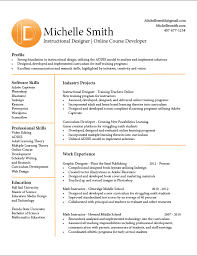 Resume Templates For Assistant Professor Wondrous Instructional Design Resume 14 Assistant Professor Resume
