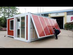 one house china expandable container house 10 minutes one house