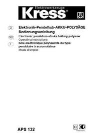 k chenger che neutralisieren kress aps 132werkzeuge herunterladen pdf anleitung kostenlos 1f