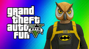gta 5 online funny moments halloween preparation batman dark