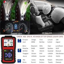 how to reset kia abs light obd diagnostic tool obd2 abs srs airbag crash data reset auto