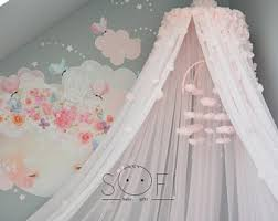 Cot Bed Canopy Flower Bed Canopy Etsy