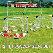 soccer goals ebay