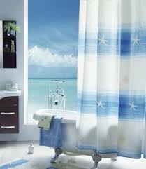 Beachy Shower Curtains Coastal Shower Curtains For Atmosphere Cafemomonh Home