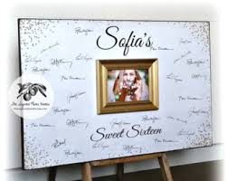 quinceanera guest book sweet 16 guest book guestbook sweet 16 decoration sweet 16