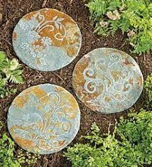 35 best floral stepping stones images on gardening