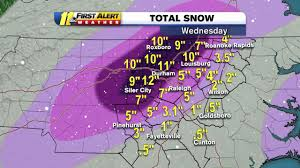 Snowfall Totals Map Why Did We Get So Much More Snow Than Forecast Abc11 Com