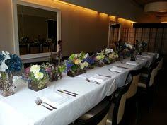 another view of center pieces if you want something a bit taller ixia wedding season