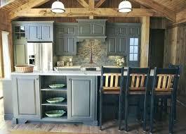 cabin kitchens ideas cabin style kitchen cabinet cabin style kitchen cabinets log painted