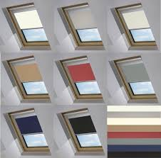 blackout skylight roller blinds for velux roof windows all sizes