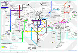 Vienna Metro Map by London Underground Map Translated Into German Londoner U Bahn