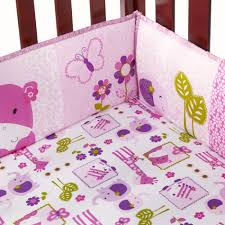 Baby Minnie Mouse Crib Bedding Set 5 Pieces by Crib Bumpers Sears