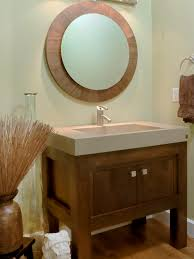 Powder Bathroom Vanities Powder Room Craftsmen Vanity Design Pictures Remodel Decor And