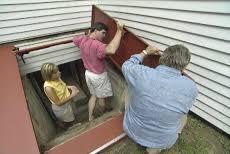 how to install a steel bulkhead basement door u2022 diy projects u0026 videos