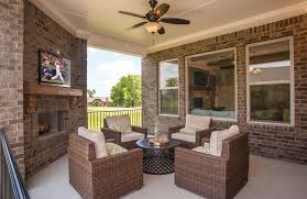 Patio Furniture Nashville by Covered Outdoor Living Area With Patio Furniture The Colton Floor